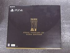 PS4 PlayStation 4 Console FINAL FANTASY XV LUNA EDITION 1TB Limited Model