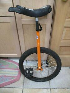 """24"""" Unicycle, Unicycle.com, Orange, Freestyle"""