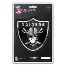 Oakland Raiders Die Cut 3D Logo Decal [NEW] NFL Car Sticker Emblem Truck Vegas