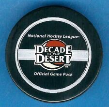 GAME PUCK - 2006-2007 PHOENIX COYOTES NHL OFFICIAL 'Decade in the Desert' - #2L