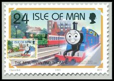 ISLE MAN MK LOKOMOTIVE THOMAS EISENBAHN MAXIMUMKARTE MAXIMUM CARD MC CM ba25