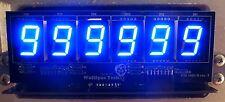 6-Digit DIY Display Kit for Bally/Stern Pinballs - Wolffpac - Blue digits