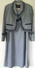 Gorgeous Mexican Charra Mariachi Skirt Jacket Suit Traje Charra wool & suede
