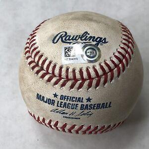 MLB Authentic Game Used Baseball Sean Doolittle  Strikeout Oakland Athletics '14