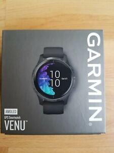 New in box Garmin Venu Amoled screen GPS Smartwatch Sport Tracker 010-02173-11