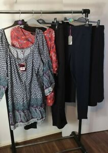 Womens Ladies Clothes Bundle Size 30 Trousers Blouse Shirt Top Pants Tshirts H4