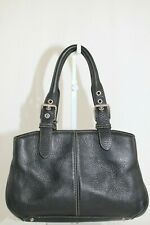 *RARE* Dooney & Bourke 2002 All Weather Leather 2 Y031 SMALL BUCKLE SATCHEL $295