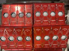 New listing New Callaway Chrome Soft Golf Balls Dual core. Eight Dozen White. 96 NEW Balls!