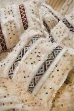 """Moroccan Wool Pillow Cover -- Handira Berber Pillow 19"""" X 22"""""""