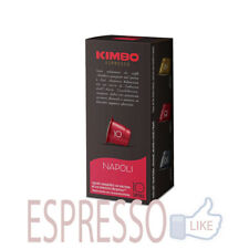 100 Capsule Kaffè Kimbo Miscela Napoli Compatibili Nespress