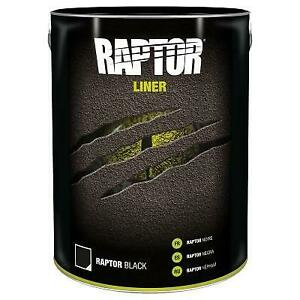 U-Pol Raptor Tough Protective Coating Ute Bed Liner 5L Tintable Choose your colo