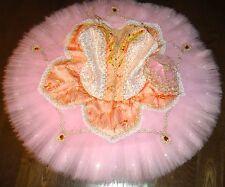 Professional Pink Ballet Tutu Aurora Sugar Plum Peach Fairy Costume Bust 29-32