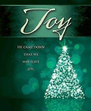 Joy Tree Advent Bulletin, Large (Pkg Of 50): By