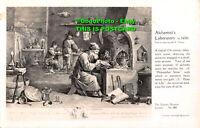 R435442 London. The Science Museum. Alchemist Laboratory. B. Matthews. Crown. No