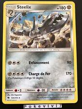 Carte Pokemon STEELIX 125/214 RARE Soleil et Lune 8 SL8 Tonnerre Perdu FR NEUF