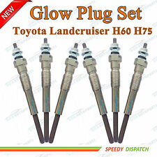 Glow Plugs For Toyota Landcruiser HJ60 HJ75 Diesel 2H 4.0 Diesel 6cyl 82-88