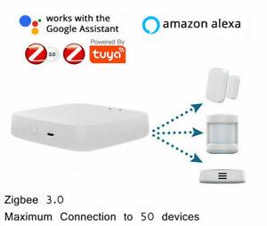 Tuya ZigBee3.0 Smart Gateway Hub Wireless Smart Home Bridge Smart Life APP UK