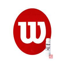 WILSON Tennis Stencil e WILSON Stencil ink BIANCO