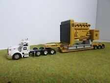 Caterpillar Tonkin Peterbilt Truck Trailer Diesel Motor Load Heavy Haul HO1/87