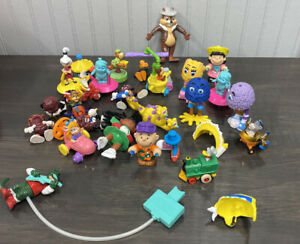 McDonalds Hardees & Others Mixed Lot Toys California Raisins Chip& Dale