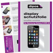 2x Samsung Galaxy S WiFi 4.0 Schutzfolie klar Displayschutzfolie Folie Passgenau