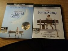 Forrest Gump (1994) 4K disc w/ Slipcover, No Digital Code. No 1080p blu ray.