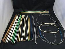 Knitting Needles Large Vintage Mixed Set of Various Sizes and Shapes