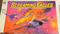 Screaming Eagles Board Game - Milton Bradley 1987 Air Assault