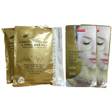 [GOLD SET] Purederm Hydro Collagen Mask 2Pack 50Sheet + Eye Zone & Neck Mask x2