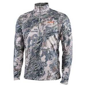Sitka Core Mid Weight Zip Tee Open Country 2019