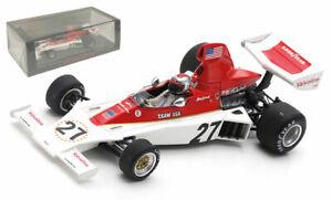 Spark S1892 Parnelli VPJ4 #27 Swedish GP 1975 - Mario Andretti 1/43 Scale
