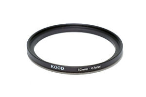 62mm-67mm 62-67 Stepping Ring Filter Ring Adapter Step up