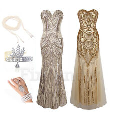 1920s Flapper Dress Gatsby Party Sequin Dresses Cocktail Wedding Bridesmaid Gown