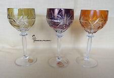 Hofbauer  Bleikristall Römer Weinglas 3 Stück  - H. 18 cm