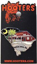 HOOTERS RESTAURANT NIGHT LIFE IN ROCK HILL SC SOUTH CAROLINA HOOTERS LAPEL PIN