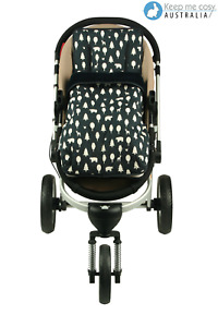 Keep Me Cosy™ 2 in 1 Infant Footmuff Set, Universal, Cotton - Playful Plane