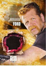 The Walking Dead Season 5 Costume Relic Card Abraham Ford /99