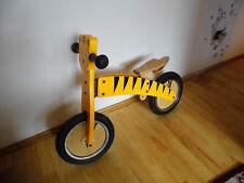 Kinder Holz Laufrad Tiger 12 Zoll Bike Lernlaufrad Luftbereifung wie NEU