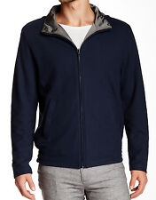PETER MILLAR Reversible Jacket Packaged Hood Navy / Charcoal Portugal Sz XL $495