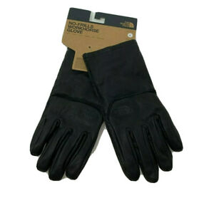 The North Face No-Frills Workhorse Unisex Gloves Black Leather NEW Choose M or L
