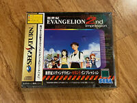 NEW/SEALED, Neon Genesis Evangelion 2 2nd Impression JAPAN Ver Sega Saturn