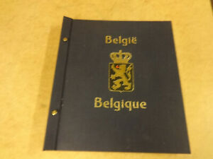 BOOK WITH STAMPS BELGIË / BELGIQUE