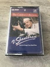 V. Shantaram ~ The Golden Collection ~ Cassette Tape Songs from Hindi Films Rare
