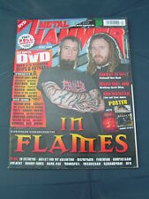 Metal Hammer 4/2008 IN FLAMES SUBWAY TO SALLY HEAVEN SHALL BURN KORN DEATHSTARS