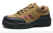 Mens Safety Shoes Steel Toe non slip  Breathable outdoor Work Boots Hiking Climb
