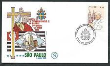 1980 VATICANO VIAGGI DEL PAPA BRASILE SAN PAOLO - EV