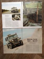 WILLYS (Jeep) Eight Wheeler 1953 - 'The Centipede' - Classic Test Article