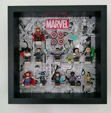 Display Case Frame for Lego Marvel Studios Series 71031 minifigures figures 27cm