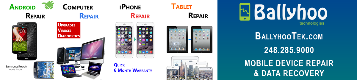 Ballyhoo Tech: Mobile Device Repair