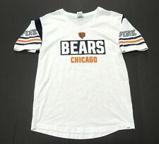 Pink Victoria's Secret NFL Chicago Bears White T-Shirt Women's Size Medium